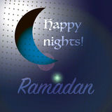 Ramadan happy nights Royalty Free Stock Images