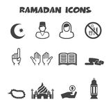 Ramadan icons Royalty Free Stock Image
