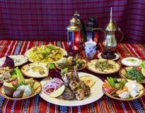 Ramadan Iftar lub Suhoor bufet obrazy royalty free