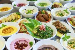 Ramadan Iftar lub Suhoor bufet zdjęcie royalty free