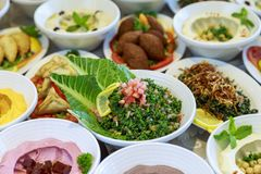 Ramadan Iftar lub Suhoor bufet obrazy stock