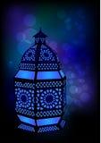 ramadan islamisk lampa för eid vektor illustrationer