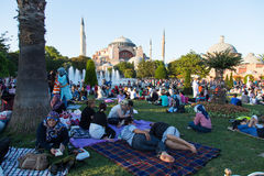 Ramadan in Istanbul Stock Photography