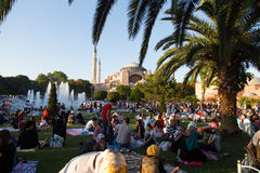 Ramadan in Istanbul Royalty Free Stock Photo