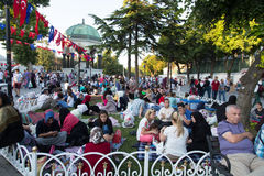 Ramadan in Istanbul Stock Photos