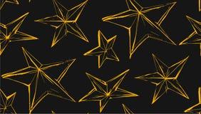 Ramadan Kareem που χαιρετά το διανυσματικό άνευ ραφής σχέδιο με ένα σύγχρονο φανάρι και τα αστέρια ειδικά για την επιθυμία και το Στοκ φωτογραφία με δικαίωμα ελεύθερης χρήσης