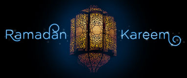 'Ramadan Kareem'. Greeting card template royalty free stock photography