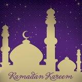 Ramadan Kareem Royaltyfri Bild