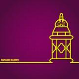 Ramadan Kareem Fotografie Stock