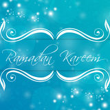 Ramadan Kareem Abstract Arkivfoton