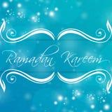 Ramadan Kareem abstrakt Zdjęcia Stock