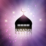 Ramadan Kareem-achtergrond Royalty-vrije Stock Foto's
