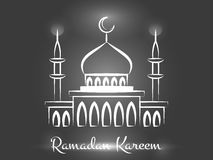 Ramadan Kareem Background Design Photo stock