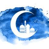 Ramadan Kareem Background Design Illustration de vecteur illustration stock