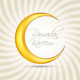 Ramadan Kareem Background Design Vecteur Images stock