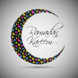 Ramadan Kareem Background Design Vecteur Photo stock