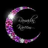 Ramadan Kareem Background Design Vecteur Image libre de droits
