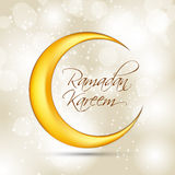 Ramadan Kareem Background Design Vecteur Photographie stock