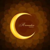 Ramadan Kareem Background Design Vector Fotos de archivo libres de regalías