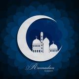 Ramadan Kareem Background Design Vector Imagenes de archivo