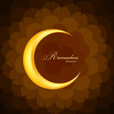 Ramadan Kareem Background Design. Vector Royalty Free Stock Photos