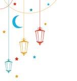 Ramadan Kareem Background Stock Image