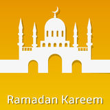 Ramadan Kareem Background Stock Photo