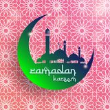 Ramadan Kareem Background, Ramadan Mubarak Background, fond islamique Photographie stock libre de droits