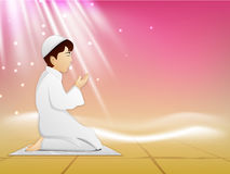 Ramadan Kareem background. Stock Images