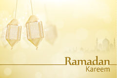 Ramadan kareem background religion holiday. Illustartion of ramadan kareem background religion holiday Stock Photos