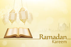 Ramadan kareem background religion holiday. Illustartion of ramadan kareem background religion holiday Royalty Free Stock Images