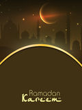 Ramadan Kareem background Stock Photography