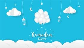 Ramadan kareem Cartoon background, Festival design concept. Ramadan kareem Cartoon background. Festival design concept,greetings Ramadan kareem, elegant design Royalty Free Stock Photography
