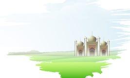 Ramadan Kareem celebration with Islamic Mosque. Stock Images