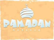Ramadan Kareem celebration poster, banner or flyer. Stock Photos