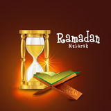 Ramadan Kareem celebration with Quran Shareef. Royalty Free Stock Photography