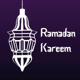 Ramadan kareem. Colored background with text and elements for ramadan kareem. Vector illustration stock illustration