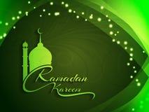 Ramadan Kareem decorative background design. Royalty Free Stock Images