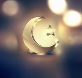 Ramadan Kareem Design Imágenes de archivo libres de regalías