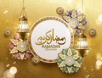 Ramadan Kareem Design stock de ilustración