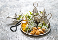 Ramadan kareem. Eid mubarak. Islamic holidays decoration Stock Photography
