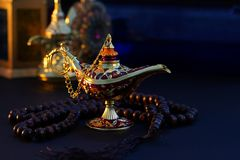 Ramadan Kareem, Festive greeting royalty free stock photography