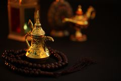 Ramadan Kareem, Festive greeting stock photography
