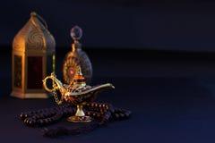 Ramadan Kareem festlig hälsning arkivbilder