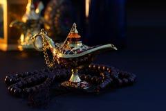Ramadan Kareem festlig hälsning royaltyfri foto