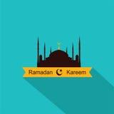 Ramadan Kareem Flat Design Foto de Stock