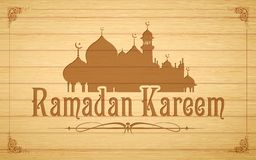 Ramadan Kareem (Generous Ramadan) background Stock Photography