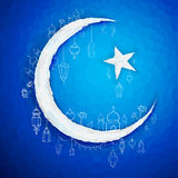 Ramadan Kareem (Generous Ramadan) background Royalty Free Stock Images