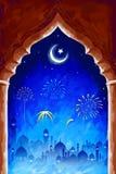 Ramadan Kareem (Generous Ramadan) background Stock Images