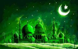 Ramadan Kareem (Generous Ramadan) background Royalty Free Stock Photos